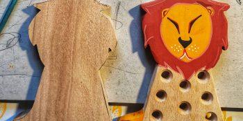 Kako nastane nova lesena zverinica